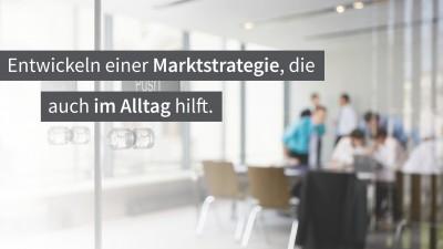Einladung zum Seminar Marktstrategie